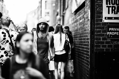 DSC_5349-Edit-Edit.jpg (Luminor) Tags: street light portrait people bw man blur guy london look blackwhite nikon mood open natural bokeh candid wide 85mm streetphoto bricklane smoothsilky d700