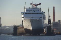 Pier 70 Carnival Inspiration 11-2013 (daver6sf@yahoo.com) Tags: cruiseship sanfranciscobay bae portofsanfrancisco pier70 carnivalinspiration baeshipyard e18200mmf3563oss