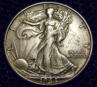 Walking Liberty Silver Dollar