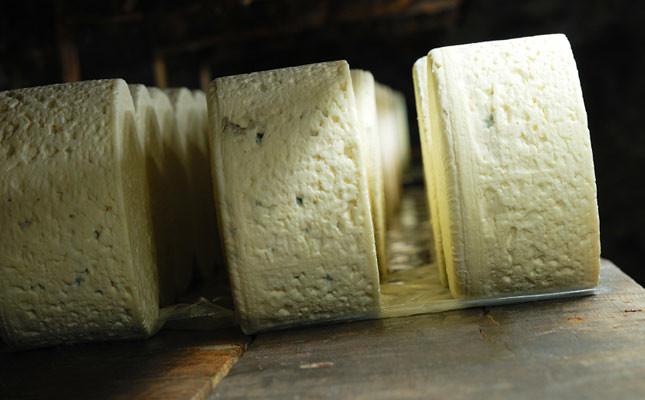 Roquefort cheese is one of the Worlds best known blue cheeses