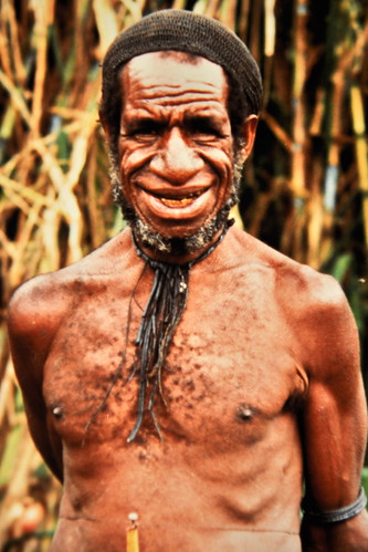Western New Guinea - Baliem Valley - Dani Man - 15