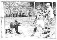 Preguinho(Primeiro gol do brasil em compa do mundo contra a Iugoslávia) 1930