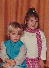 Sad - Happy (-Walt-) Tags: family girls cute smile face fashion interesting colours little blond beautifulgirl nineteenseventies
