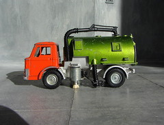 Dinky Toys Ford D800 Johnston Road Sweeper Rare Sealed Door Version No. 449 1976 With Working Lights Conversion And Restoration Plus Scratch Built Building: Futuristic Diorama - 90 Of 91 (Kelvin64) Tags: road door building ford toys conversion no version retro and plus restoration scratch 449 rare futuristic built 1976 diorama johnston dinky d800 sweeper sealed