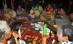 Old Sea Gipsy Band (Chrisseee) Tags: music thailand drum traditional band cultural seagipsy