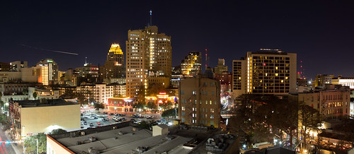 San Antonio Skyline at Night