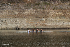 Lexington Reservoir Rowers (Sean R McLean) Tags: california training drought rowing losgatos rowers lexingtonreservoir begoodhumans