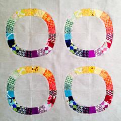 current wip - baby quilt (marzipanchen) Tags: ds babyquilt scrapquilt denyseschmidt singlegirlquilt