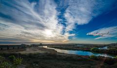 20140220-VKH_0911 (VanHuynh) Tags: sunset landscape newark february 2014 dumbartonbridge donedwardsrefuge