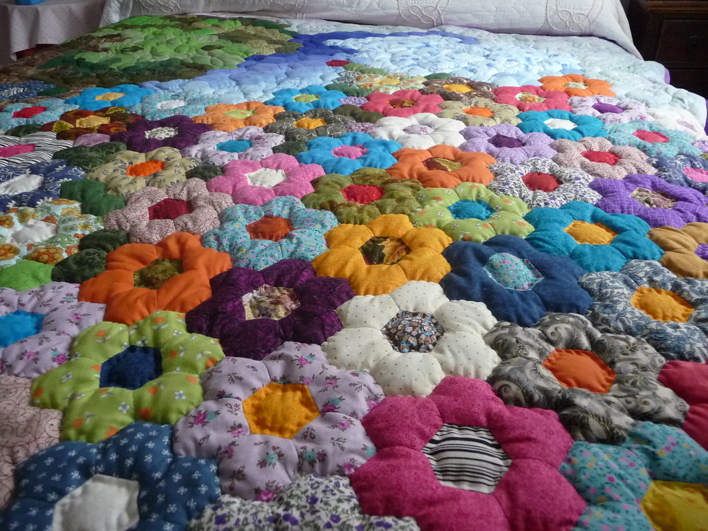 The world 39 s best photos of colcha and patchwork flickr - Como hacer colchas de patchwork ...
