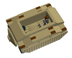 Escape from the tank 07 (mcs157218) Tags: walking dead tank lego rick horror vehicle tvshow zombies walkers
