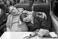 Homeward Bound (D.J. De La Vega) Tags: leica cup club train football glasgow thistle aberdeen final celtic league inverness x1 caledonian 2014