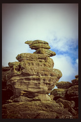 Witch in Brimham rocks