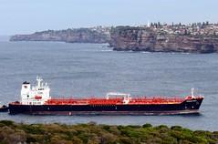 IMG_0508-001 Tandara Spirit rounding North Head. (Boat bloke) Tags: canon coast boat ship waterfront sydney australia tug sydneyharbour sx50hs