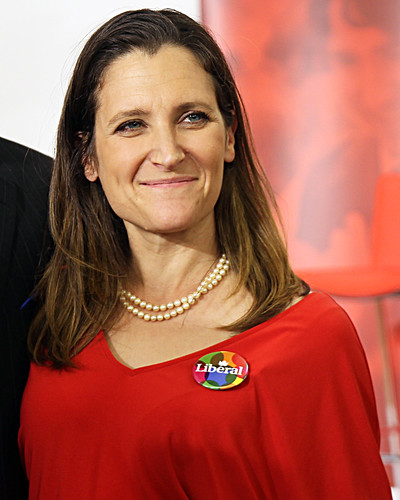 The Face of Evil,Chrystia Freeland, Canada's Minister of Foreign Affairs, From FlickrPhotos