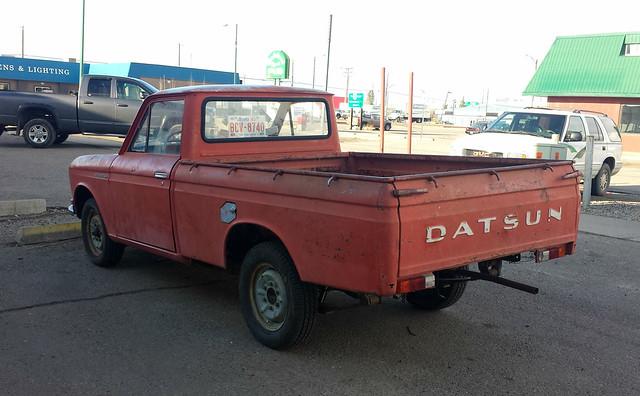 classic truck pickup 1968 520 datsun 1300
