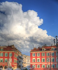 Clouds over Nice - Canon EOS 5D Mark III - 24-70mm (Beek2012) Tags: france clouds canon nice hdr frankrike smörgåsbord lovelyclouds canoneos5dmarkiii tamronsp2470mmf28divcusd