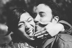 Hello Horgans (Hey_MisterRogers) Tags: wedding people love hearts happy kissing couple married faces smiles marriage kisses engaged