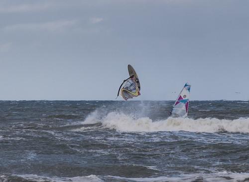 Surf-Akrobatik