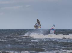 Surf-Akrobatik (Teelicht) Tags: balticsea brandung deutschland germany kühlungsborn küste meckpomm mecklenburgvorpommern meer ostsee windsurfen coast sea surf