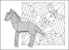 Horse diagram update (Mdanger217) Tags: max danger origami horse diagram