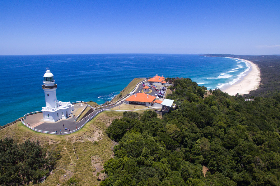 Byron Bay is the easternmost point of mainland Australia