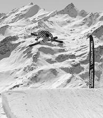 Send it. (clicheforu) Tags: sendit verbier wallis valais alpes suisse suiza schweiz mountain ski skiing landscape view nature blackwhite today freestyle