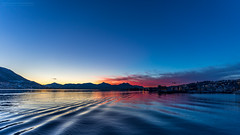 The Polar Day III (Normann Photography) Tags: arcticnorway troms tromsø visitnorway yellow availablelight blue breathtaking bucketlist cityscape exploretheworld lighthunting magiclight naturalcolors northernnorway orange pattern seascape season waves winter norway no