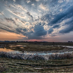 Huron County Sunset—Early Spring thumbnail