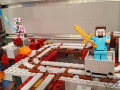 Toy Fair 2017 LEGO Minecraft 09 (IdleHandsBlog) Tags: minecraft toys videogames lego constructionsets toyfair2017