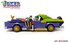 LEGO Batman Custom MOC | The Joker Lowrider Pimpmobile (AC Studio) Tags: lego batman custom moc the joker lowrider pimpmobile building toys movie legos 70906 notorious low rider set