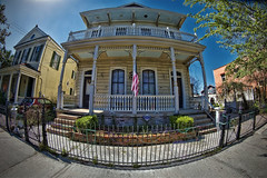 Old Captain's House (msuner48) Tags: d750 acr5 cs4 sky building architecture frenchcolonial quaint charm historic nikcollection topazlabs rokinon8mmf35