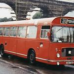 UNITED 2849 HHN721K IS SEEN IN DURHAM ON 11 AUGUST 1985