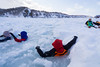 Walking on Driftice 03 (tomomega) Tags: 知床 流氷 北海道 雪 氷 ice snow driftice