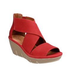 "Clarks Clarene Glamor sandal red • <a style=""font-size:0.8em;"" href=""http://www.flickr.com/photos/65413117@N03/33226371660/"" target=""_blank"">View on Flickr</a>"