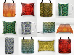 Natural geometry (Natalia Sedyakina (Devi)) Tags: adobephotoshop pattern seamlesspattern kaleidoscope psychedelic psy trance mandala nature natural crystal print design floweroflife sacredgeometry geometric complex reflection bokeh ornament home decor bag cup fire bonfire forest water molecula star gloss abstract background unusual gem magic stone rich fantastic decorative plant grass spark blood snow snowflake triangle polygon art hexagon square cross symmetry