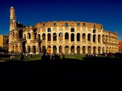 Gladiator (ioriogiovanni10) Tags: anticaroma nikon canon rome gladiatore città roma azzurro cielo colosseo iphone