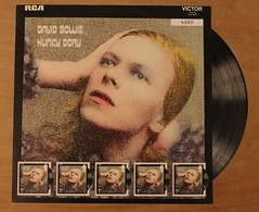 David Bowie - Hunky Dory - Royal Mail Fan Sheet (Darren...) Tags: