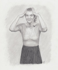 Ava (jeremy.sosnick) Tags: avagordy portrait blackandwhite woman sourcefed nutcracker ballet