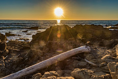 Sunset on Moonstone Beach (thewett) Tags: centralcoast cambria sunset california pacificocean