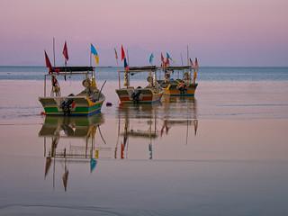 Fishing boats on Penang