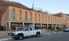 Buffalo County Courthouse (Alma, Wisconsin) (courthouselover) Tags: wisconsin wi courthouses countycourthouses usccwibuffalo buffalocounty alma swisscommunitiesintheunitedstates