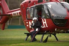 Reach 3 - Cerrito Vista Park (lenswrangler) Tags: ems rescue elcerrito cerritovistapark n31rx reach airambulance helicopter lenswrangler digikam eurocopter ec135 p2 photographer canon