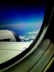 Farewell To Mt. Fuji / 富士山 (joeclin) Tags: clouds mountain mountfuji mtfuji airplanewing appleiphone4s aerials windowview iphoneography phoneography outdoor color japan ジャパン jpn 富士山 flyover inflight yokohamashi 横浜市 神奈川県 kanagawaprefecture amatuer asia