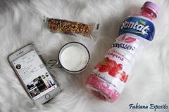 Colazione Tranquilla (fabyana_esposito) Tags: stilllife stationery caffè iphone instagram tazzina barretta flatlay cibo succodifrutta lampone colazione breakfast pausa telefono