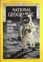 """Buzz Aldrin on the Moon.  Photo cover on """"National Geographic"""" Vol. 136, No. 6 (December 1969) (lhboudreau) Tags: magazine magazines cover covers december1969 1969 nationalgeographic nationalgeographicmagazine specialedition specialissue commemorative commemorating apollo11 apollo11onthemoon onthemoon edwinaldrin buzzaldrin neilarmstrong armstrong aldrin astronaut astronauts nasa apollo spaceprogram usspaceprogram americanspaceprogram magazineart coverart coverphoto moon moonscape spacesuit moonwalker moonwalkers firstexplorersonthemoon photocover volume136number6 vintagemagazine vintagemagazinecover vintagemagazines apolloastronauts apolloastronaut"""