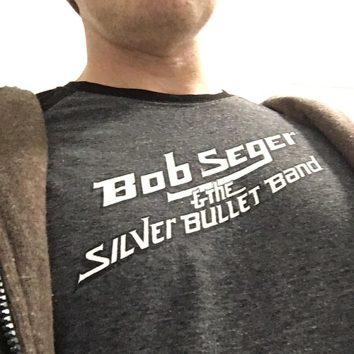 Shirt game unstoppable this week. #silverbulletband