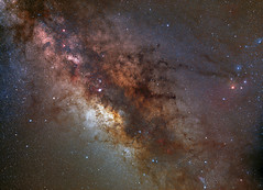 looking into the center of the Milky Way (write_adam) Tags: sky field night canon dark way stars star skies image space cluster wide sagittarius observatory telescope galaxy nebula astrophotography astronomy stacking heavens milky astronomia vixen celestial 6d celestia nebulae Astrometrydotnet:status=failed polarie Astrometrydotnet:id=alpha20130528226491