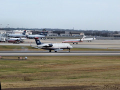 US Airways Express (Air Wisconsin) ~ Canadair CL-600-2B19 ~ N451AW (jb tuohy) Tags: plane airplane airport charlotte aircraft aviation jet aeroplane airline canadair g11 clt cl600 airwisconsin usairwaysexpress 2013 kclt n451aw jbtuohy