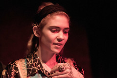 Grimes (eatsdirt) Tags: brooklyn concert gig livemusic williamsburg grimes imposemagazine glasslandsgallery may2013 claireboucher impersonatorrecordreleaseshow sglued2446858